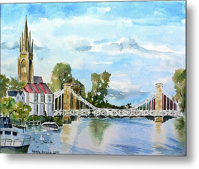 Marlow On Thames 2 Metal Print