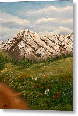 Maroon Trail Splendor Metal Print