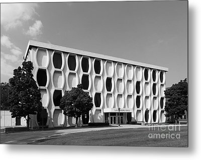 Marquette University Lalumiere Hall Metal Print by University Icons
