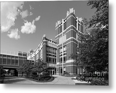 Marquette University Raynor Library Metal Print by University Icons