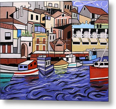 Marseille France Metal Print by Anthony Falbo