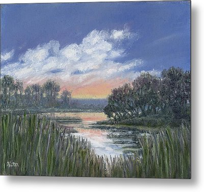 Marsh Sketch # 3 Metal Print