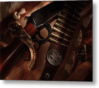 Marshal Metal Print by Daniel Alcocer