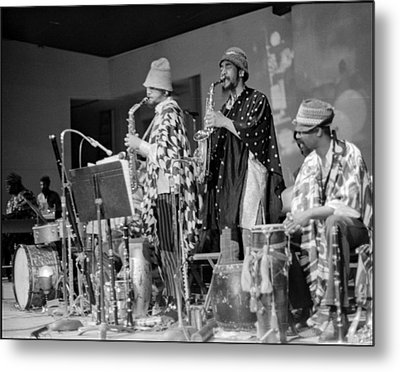 Marshall Allen And Danny Davis Metal Print by Lee  Santa