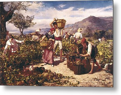 Marti I Aguilo, Ricard 1868-1936. The Metal Print by Everett