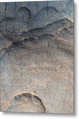 Martian Surface Metal Print