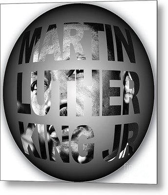 Martin Luther King Jr Metal Print by Marvin Blaine