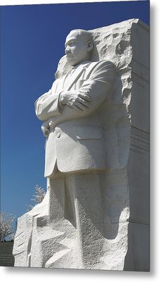 Martin Luther King Jr. Memorial Metal Print by Mike McGlothlen