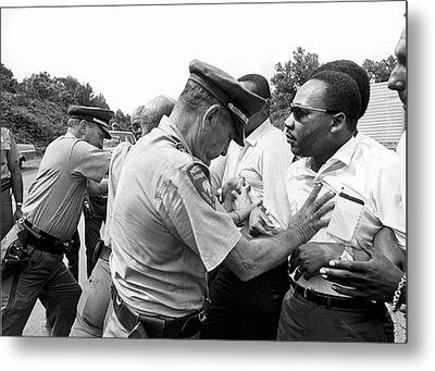 Martin Luther King Metal Print by Underwood Archives