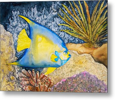 Martinique Angel Metal Print by Patricia Beebe