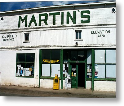 Martin's Metal Print by Gia Marie Houck