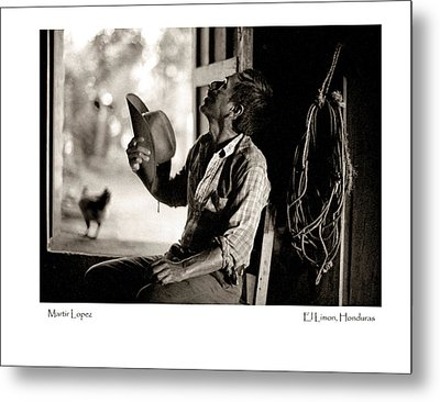Metal Print featuring the photograph Martir Lopez by Tina Manley