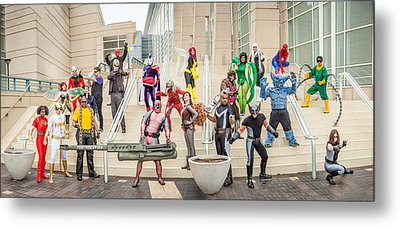 Marvel Universe C2e2 2013 Metal Print by Andreas Schneider