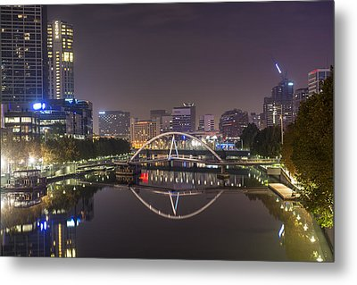 Marvellous Melbourne I Metal Print by Casey Grant
