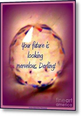 Marvelous Darling Metal Print by Bobbee Rickard