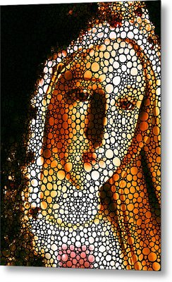 Mary - Holy Mother By Sharon Cummings Metal Print