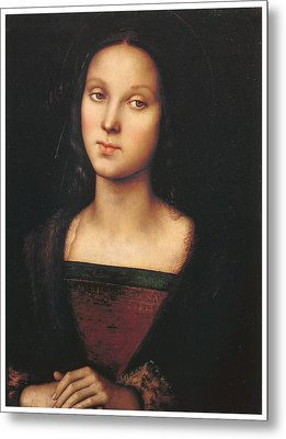 Mary Magdalen Metal Print by Pietro Perugino