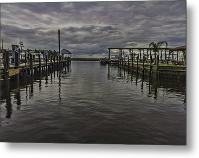 Mary Walker Marina - Stormy Skies Metal Print by Brian Wright