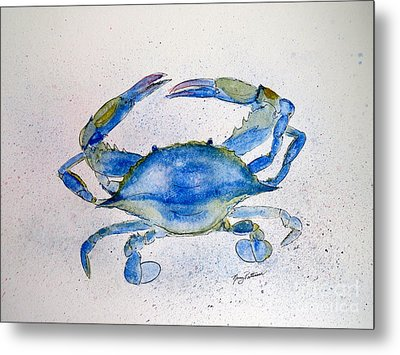 Maryland Blue Crab  Metal Print
