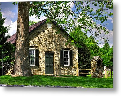 Maryland Country Churches - Fairview Chapel-1a Spring - Established 1847 Near New Market Maryland Metal Print