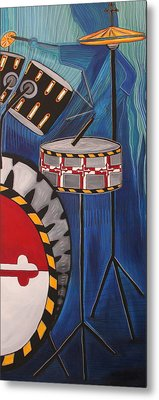 Maryland Drums Metal Print by Kate Fortin