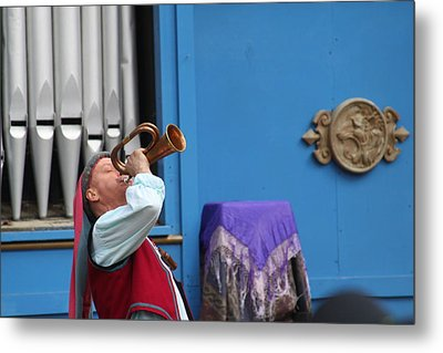 Maryland Renaissance Festival - A Fool Named O - 121218 Metal Print by DC Photographer
