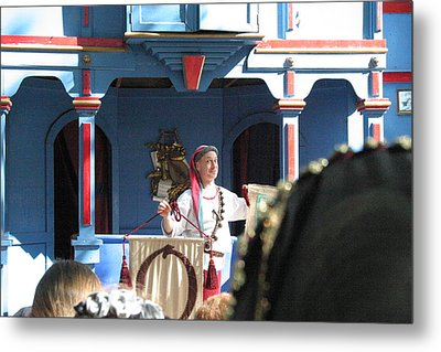 Maryland Renaissance Festival - A Fool Named O - 121224 Metal Print