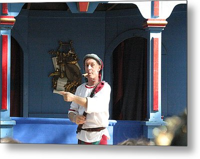 Maryland Renaissance Festival - A Fool Named O - 121227 Metal Print