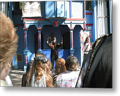 Maryland Renaissance Festival - A Fool Named O - 121229 Metal Print by DC Photographer