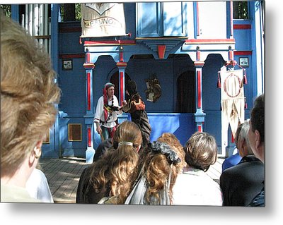 Maryland Renaissance Festival - A Fool Named O - 121230 Metal Print by DC Photographer