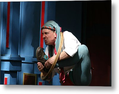 Maryland Renaissance Festival - A Fool Named O - 121234 Metal Print by DC Photographer