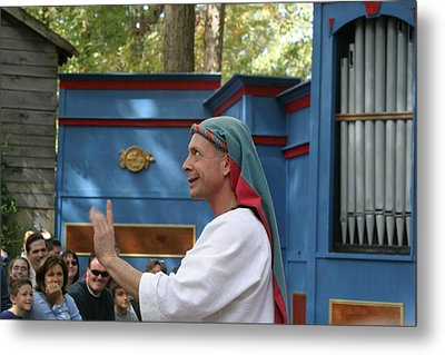 Maryland Renaissance Festival - A Fool Named O - 121240 Metal Print by DC Photographer