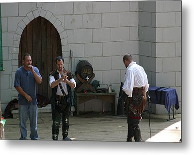 Maryland Renaissance Festival - Hack And Slash - 12125 Metal Print by DC Photographer