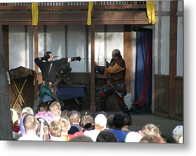 Maryland Renaissance Festival - Hack And Slash - 12127 Metal Print by DC Photographer