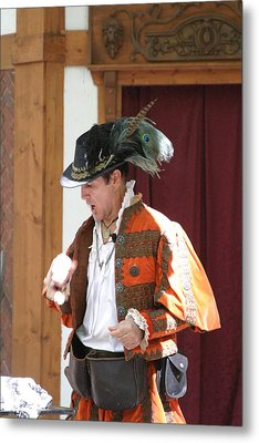Maryland Renaissance Festival - Johnny Fox Sword Swallower - 12122 Metal Print by DC Photographer