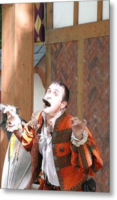 Maryland Renaissance Festival - Johnny Fox Sword Swallower - 121220 Metal Print by DC Photographer