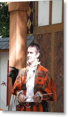 Maryland Renaissance Festival - Johnny Fox Sword Swallower - 121227 Metal Print
