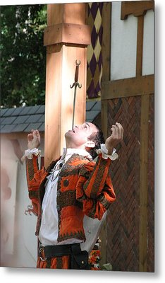 Maryland Renaissance Festival - Johnny Fox Sword Swallower - 121230 Metal Print