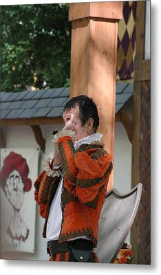 Maryland Renaissance Festival - Johnny Fox Sword Swallower - 121240 Metal Print by DC Photographer