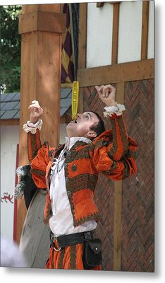 Maryland Renaissance Festival - Johnny Fox Sword Swallower - 121247 Metal Print