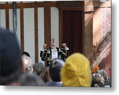 Maryland Renaissance Festival - Johnny Fox Sword Swallower - 121258 Metal Print