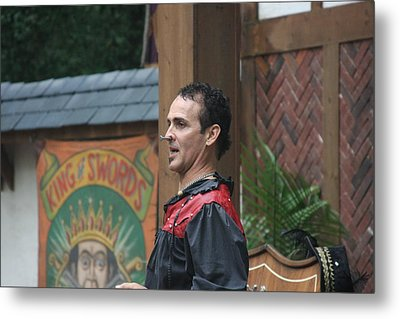 Maryland Renaissance Festival - Johnny Fox Sword Swallower - 121270 Metal Print