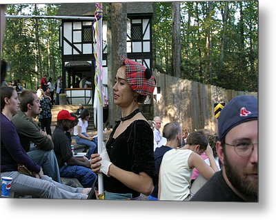 Maryland Renaissance Festival - Johnny Fox Sword Swallower - 121276 Metal Print by DC Photographer
