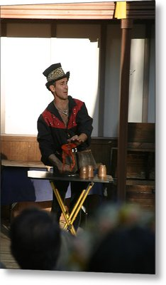 Maryland Renaissance Festival - Johnny Fox Sword Swallower - 121279 Metal Print by DC Photographer