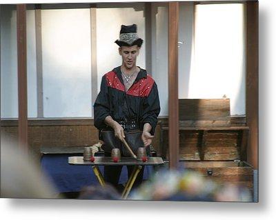 Maryland Renaissance Festival - Johnny Fox Sword Swallower - 121281 Metal Print by DC Photographer