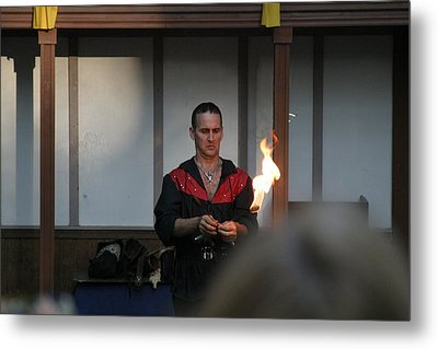 Maryland Renaissance Festival - Johnny Fox Sword Swallower - 121283 Metal Print