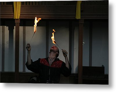 Maryland Renaissance Festival - Johnny Fox Sword Swallower - 121288 Metal Print