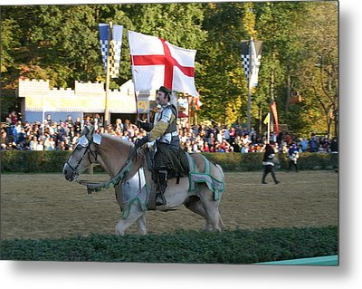 Maryland Renaissance Festival - Jousting And Sword Fighting - 121214 Metal Print by DC Photographer