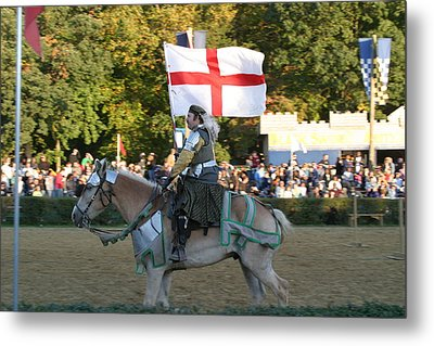 Maryland Renaissance Festival - Jousting And Sword Fighting - 121215 Metal Print