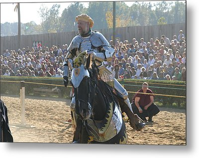 Maryland Renaissance Festival - Jousting And Sword Fighting - 1212165 Metal Print